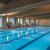 Olympic-sized indoor swimming pool at Lied Lodge, Nebraska City, NE